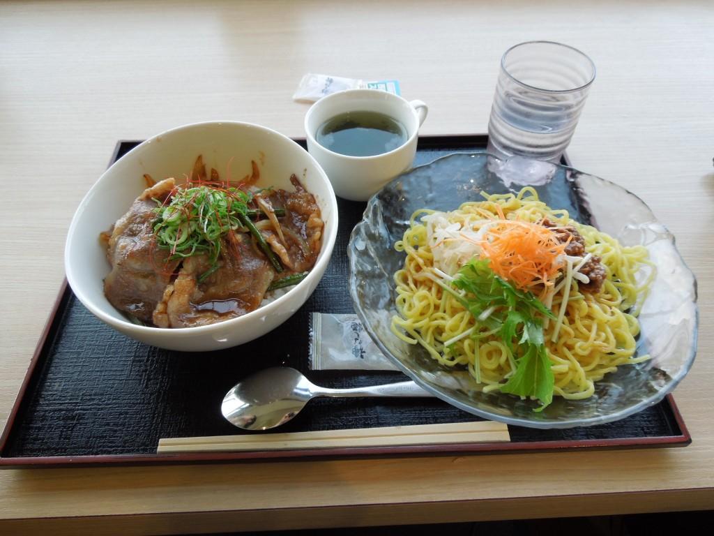 近江牛と冷麺!