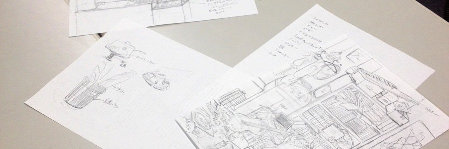 【絵画コース】空想空間を描く