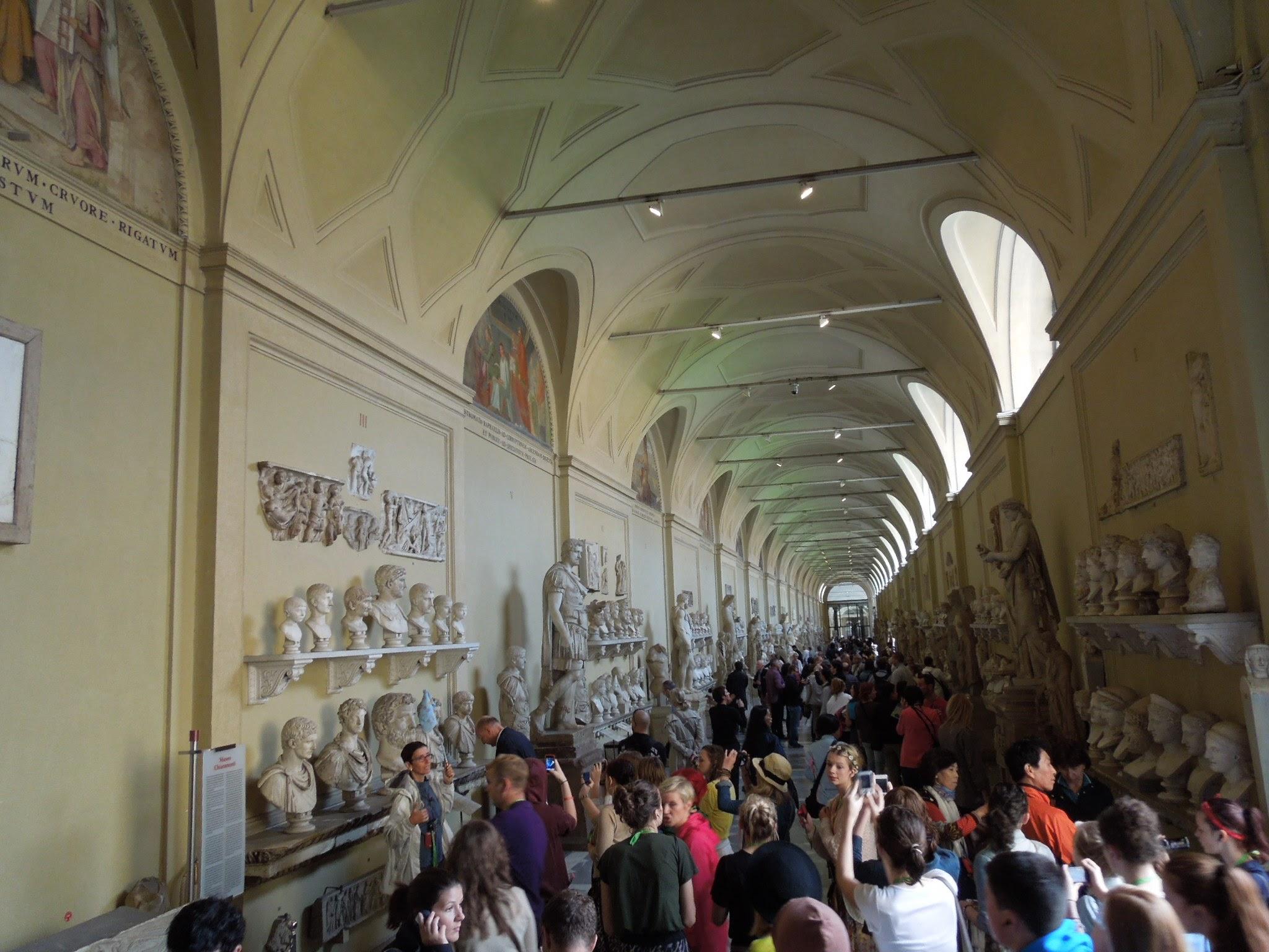 バチカン市国の彫刻ルーム