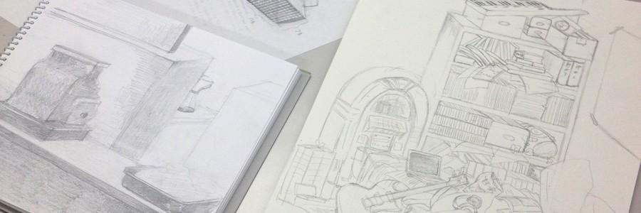 【絵画コース】Re:創造空間