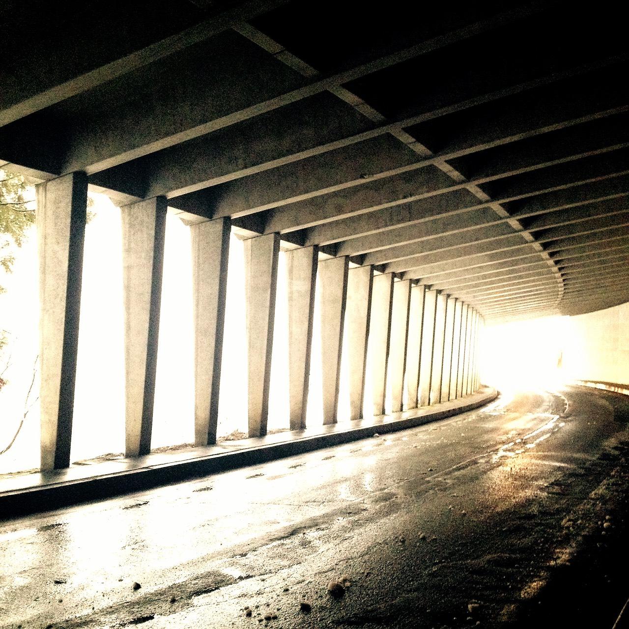 新潟のトンネル